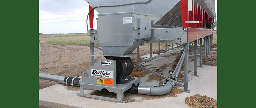 Grain Blower System : Pneumatic systems grain dryer sales and service